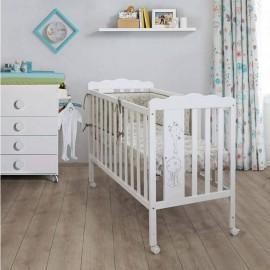 Детская кроватка Micuna Baby Giraffe 120x60 + Матрас Micuna
