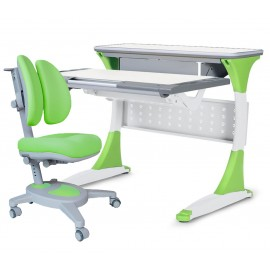 Парта Mealux Study (BD-333) + кресло Mealux Onyx