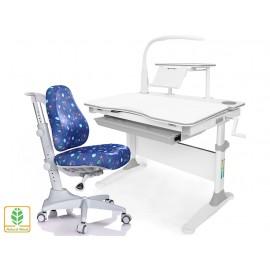 Комплект Mealux парта EVO-30 с лампой + кресло Match Y-528