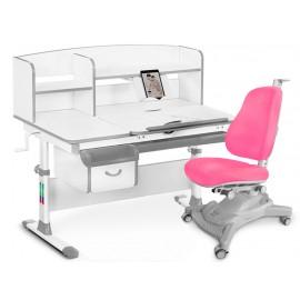 Комплект парта Mealux EVO-50 + кресло Mealux Onyx Mobi Y-418