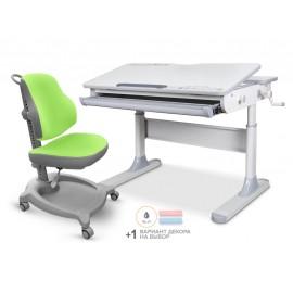 Детский стол Mealux Edmonton Multicolor Lite + кресло ErgoKi