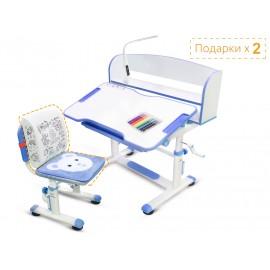 Комплект парта и стульчик Mealux BD-10 (с лампой)