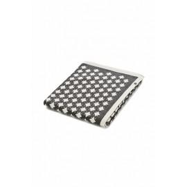 Плед 84x97 см Noordi Star (белый/серый)