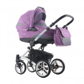 Коляска для новорожденных 2в1 Aroteam FORTE New