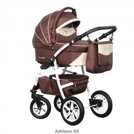 Детская коляска 3 в 1 Caretto Adriano