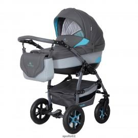Детская коляска 2 в 1 Caretto Apollo