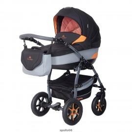 Детская коляска 3 в 1 Caretto Apollo