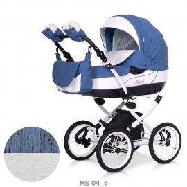 Детская коляска 2 в 1 Caretto Michelle S (экокожа)