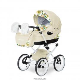 Детская коляска 2 в 1 Caretto Michelle Lux