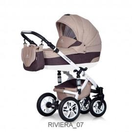 Детская коляска 3 в 1 Caretto Riviera F