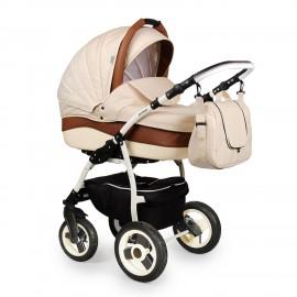 Детская коляска 2 в 1 Indigo Camila S (экокожа)