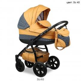 Детская коляска 3 в 1 Indigo Carmen 17 SF