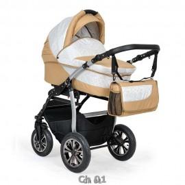 Детская коляска 3 в 1 Indigo Charlotte F