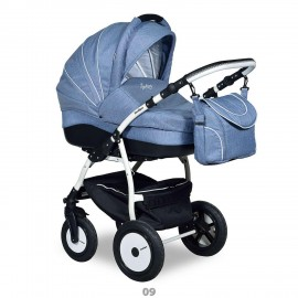 Детская коляска 3 в 1 Indigo 17 F