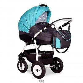 Детская коляска 2 в 1 INDIGO Indigo 17/Indigo 17 color