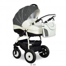Детская коляска 3 в 1 Indigo 17S F