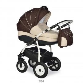 Детская коляска 2 в 1 Indigo 17S