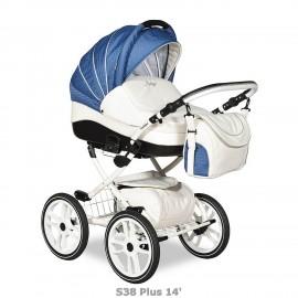 """Детская коляска 2 в 1 Indigo 17 S Plus """"14"""""""