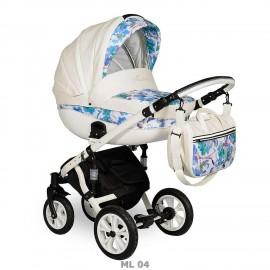 Детская коляска 2 в 1 Indigo Madonna Lux