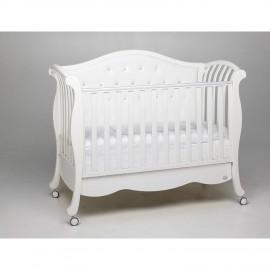 Детская кроватка Bambolina Divina Luxe Cristallo 125х65