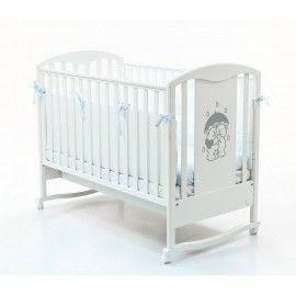 Детская кроватка Bambolina Tesoro 125х65