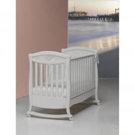 Детская кроватка Bambolina Principessa Cristallo 125х65