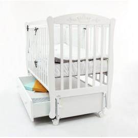 Детская кроватка Fiorellino Crown 120х60 (продольный маятник