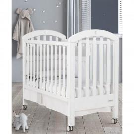 Детская кроватка Micuna White Moon Relax 120х60 с кристаллам