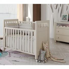 Детская кроватка Micuna Amelia Aran с LED-подсветкой 120х60