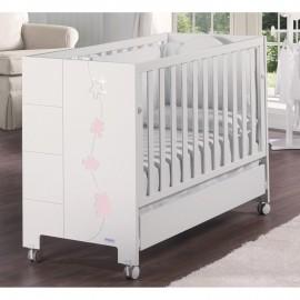 Детская кроватка Micuna Juliette Luxe Relax 120х60 со Swarov