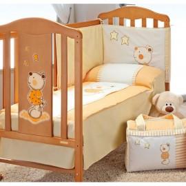 Детская кроватка Micuna Selsia 120х60 + постельный комплект