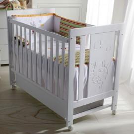 Кроватка Micuna Conejito 120x60 + матрас Micuna