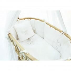 Набор для колыбели Funnababy Berlin Premium Baby White матра