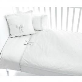 Постельное бельё Fiorellino Premium Baby White 3 предмета(Бе