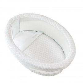 Сменный комплект белья для колыбели Micuna Smart TX-1482(Gre