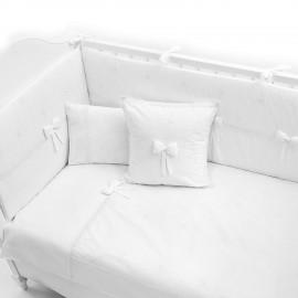 Постельный комплект Fiorellino Premium Baby White 140x70 5 п