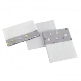 Постельное бельё Micuna Dinus Plus Grey TX-821 (3 предмета)1
