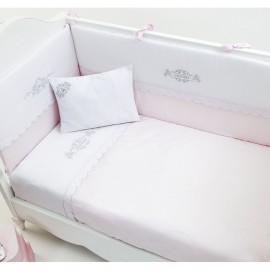 Постельный комплект Fiorellino Princess 140x70 5 предметов