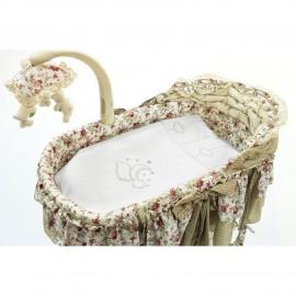 Комплект постельного белья для электронной колыбели Funnababy Luna Chic