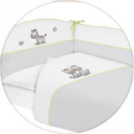 Постельное бельё 3 предмета Ceba Baby с вышивкой 120х60