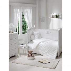 Постельный комплект Funnababy Lovely Bear White 125x65 5 пре