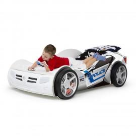Детская кровать-машина Advesta Police