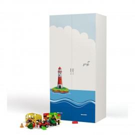 Шкаф 2-х дверный Advesta Ocean (Адвеста Океан)