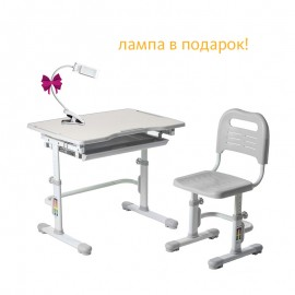 Комплект парта и стул трансформеры Fundesk Vivo