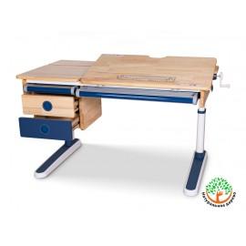 Детский стол Mealux Oxford Wood Lite с тумбой