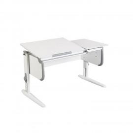 Парта для детей Дэми СУТ-25 WHITE DOUBLE с раздельной столеш