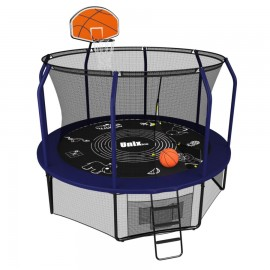 Батут UNIX line SUPREME GAME + Basketball (305 см / 10 ft)