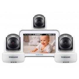 Видеоняня Samsung SEW-3043WPX3 (3 поворотных камеры)