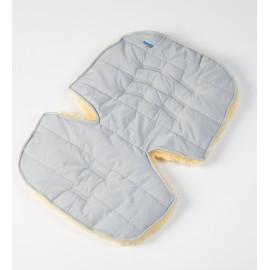 Меховой коврик для коляски или автокресла Ramili Baby Eccellente Grigio Chiaro