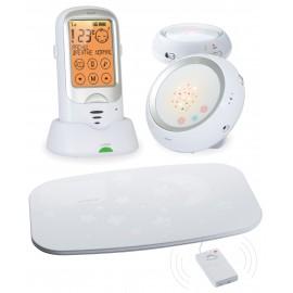 Радионяня с двумя детскими блоками и монитором дыхания Ramil